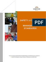 Safety and Health Management Standards