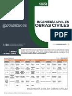 INGENIERIA CIVIL EN OBRAS CIVILES