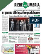 La video rassegna stampa di Umbria Jaournal TV di lunedì 1 luglio 2019
