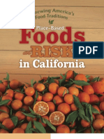 Place-Based Foods at Risk in California