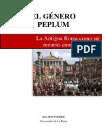 El Género Peplum. La Antigua Roma Como Un Recurso Cinematográfico