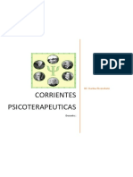 Corrientes Psicoterapéuticas