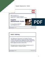 10 Supplier Audits