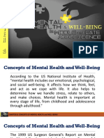 Chapter 8 - Mental Health and Well Being in Middle and Late Adolescence