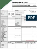 PDS CS Form No 212