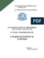 CS73_DSP_2Marks.pdf