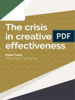 Ipa Crisis in Creative Effectiveness 2019