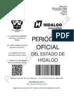 Programa Obligatorio de Verificacion Vehicular PdEH