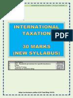CA Final Kalpesh Classes F01 - May 2019 (International Taxation)