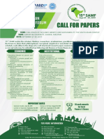 Call for Papers - UPdated