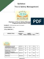 Dip Fire Safety Management