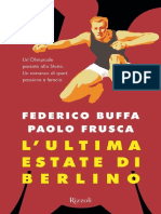 Buffa Federico L Ultima Estate Di Berlino