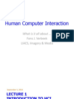 Lecture 1 - Introduction to Hci Principles & Key Concepts - Edited