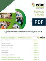 WTM Latin America 2018 Oportunidades de Patrocinio Digital