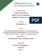 Investigacion metodologia