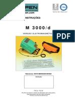 Manual de Instruções Máquina de Micro Marcação M3000/d Pro-Pen