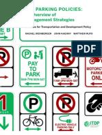 US Parking Policies