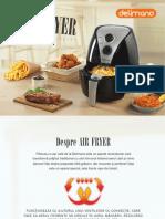 Carte Retete Delimano Air Fryer