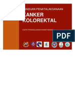 Abstrak Panduan Penatalaksanaan Kanker Kolorektal