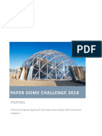 Paper Dome Challenge 2018 - FInal