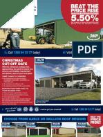 Wide Span Sheds Catalogue CYC