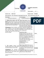 Wael GC3 Observation Sheet
