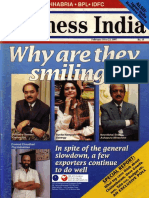 1997-02 Executive Focus Frontrunners Profile of Vishvjeet Kanwarpal CEO GIS-ACG in Business India