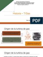 Historia de la turbina de gas