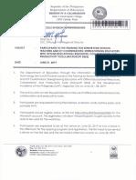 Regional Memorandum No. 379 s.2019