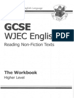 Reading Non Fiction Workbook - Higher Tier