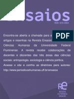 Revista ensaios - chamada.pptx