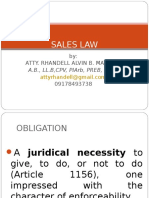 Basic Sales Law