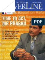 2001-03 Privatisation of Distribution Panelist Vishvjeet Kanwarpal CEO GIS-ACG in PowerLine