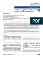 Use of Smartphone Based Application to Measure Roughness