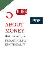 5 Lies about Money