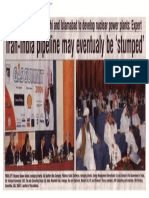 2006-04 Iran-lndia Pipeline May Eventually Be 'Stumped' Panelist Vishvjeet Kanwarpal CEO GIS-ACG