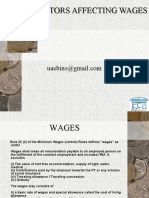 Salary and Wages