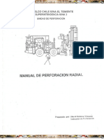 Operación de Perforadoras Jumbo Radial
