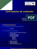 INSTRUMENTOS DE EVALUACION.ppt