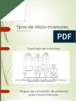 Tipos de Micro-Inversores