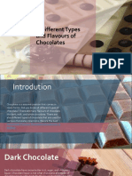 6 Different Types and Flavours of Chocolates