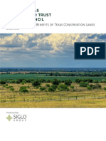 Valuing Economic Benefits of Texas Conservation Lands