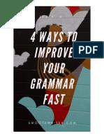 4 Ways to Improve Your Grammar Fast v1.03