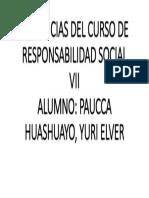 EVIDENCIAS DEL CURSO DE RESPONSABILIDAD SOCIAL VII.pptx