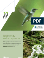 OECD Work on Biodiversity and Ecosystems
