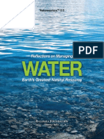 Reflections on Managing Water
