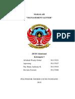 Makalah Management Letter