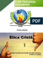 Palestra Etica Cristã