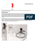 Calcimeter Manual