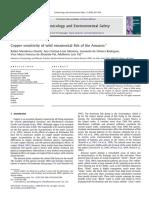 Cobre y Ecotoxicologia